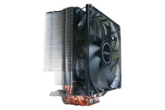 Antec C400 Air CPU Cooler 120mm PWM Blue LED 77 CFM, Intel 775, 115X, 1366,