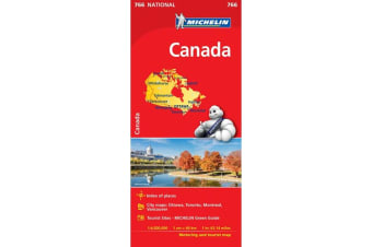Canada - Michelin National Map 766 - Map
