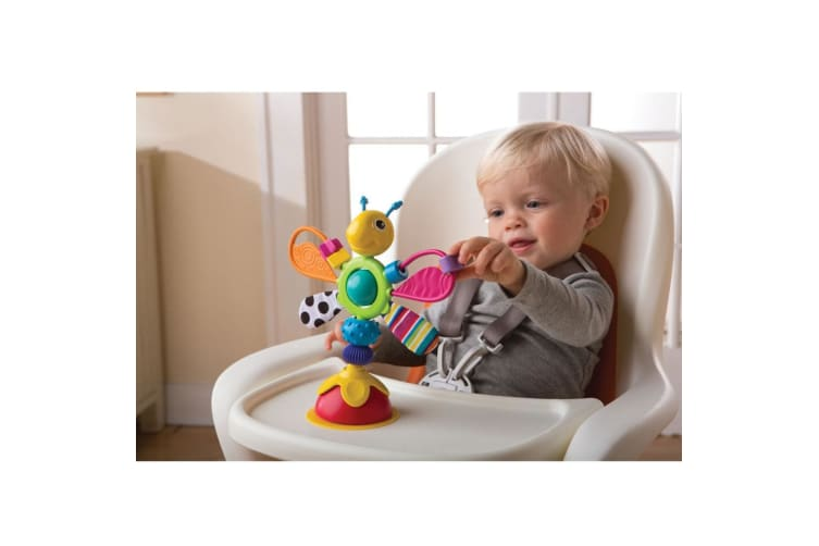 Lamaze Freddie Firefly High Chair Toy/Rattle for Baby/Infant/Newborn Play/Learn