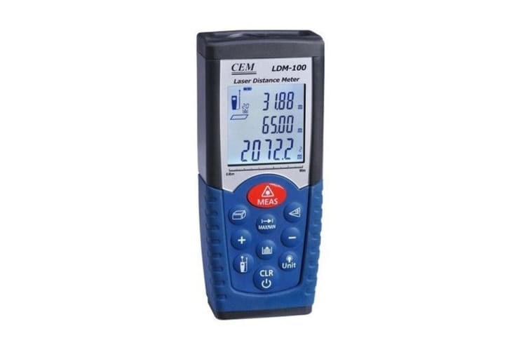 LDM100 50M Laser Digital Distance Meter Measurer Range Distance Measure Tool