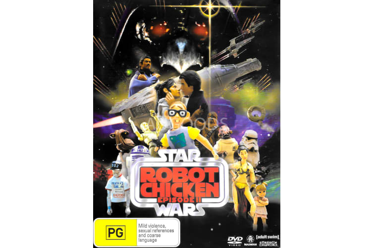 Robot Chicken: Star Wars Episode II - Region 4 Rare- Aus Stock Preowned DVD: DISC LIKE NEW