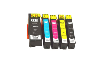 273XL Compatible Inkjet Set 5 Cartridges