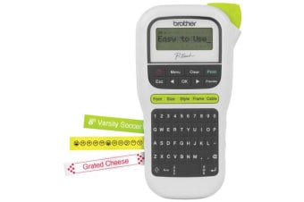 Brother Ptouch PTH110 Label Maker Durable - White