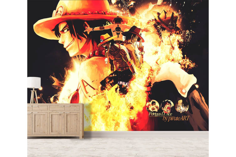 3D Fire Punch Ace 27 Anime Wall Murals Woven paper (need glue), XXL 312cm x 219cm (WxH)(123''x87'')