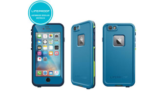 Blue Lifeproof Fre Tough Drop Case Cover Waterproof Shockproof for iPhone 6/6s