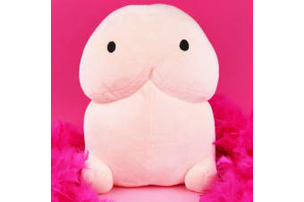 Pete the Plush Penis Pillow | A Soft Cuddly Penis For You to Hug!
