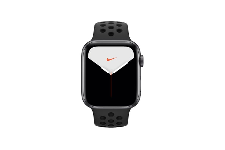 Apple Watch Nike+ Series 5 (Space Gray Aluminum, 44mm, Anthracite/Black Nike Sport Band, GPS Only)
