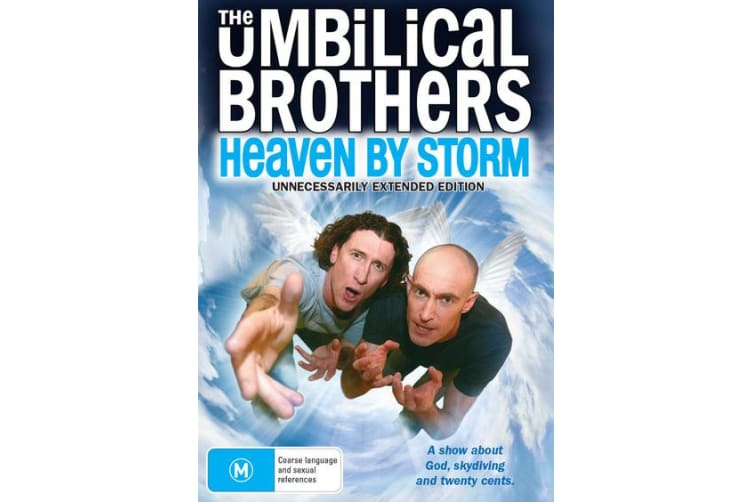 The Umbilical Brothers Heaven By Storm DVD Region 4