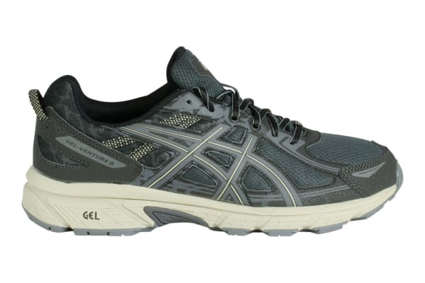 c19782a2a35 ASICS Men s Gel-Venture 6 Running Shoe (Black Dark Grey Feather Grey ...