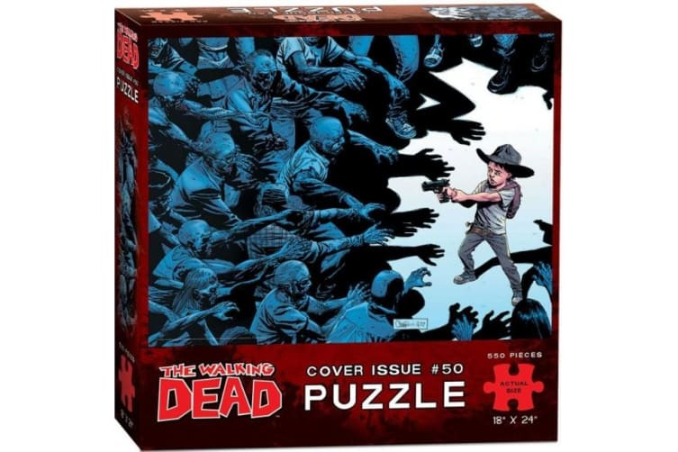The Walking Dead Cover Art Issue 50 Puzzle