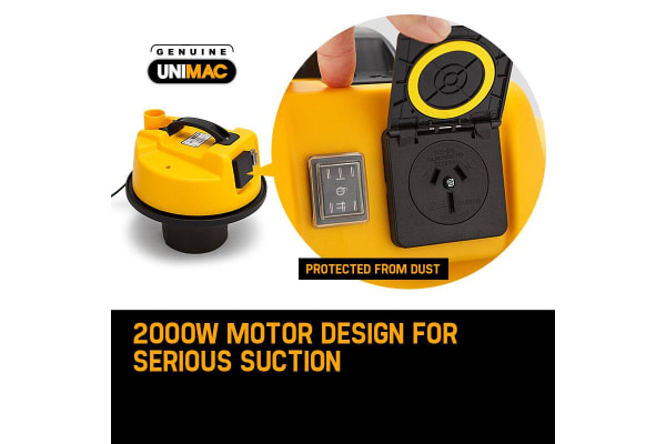 NEW UNIMAC 30L Wet and Dry Vacuum Cleaner Blower Bagless 2000W Drywall Vac