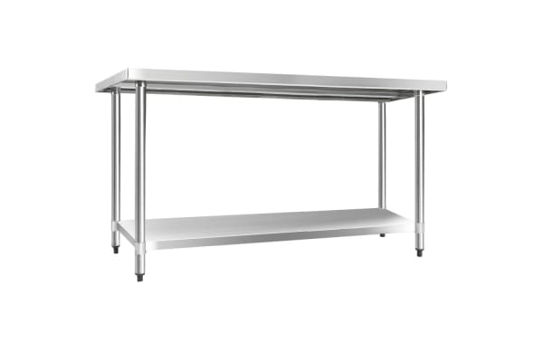 304 Stainless Steel Kitchen Work Bench Table 1524mm