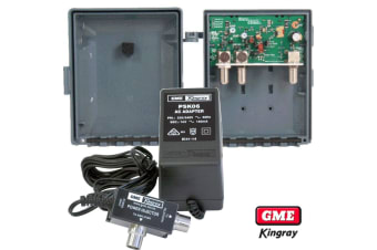 Kingray Masthead Kit Combined VHF - UHF Antenna LTE Filtering F Type Connections
