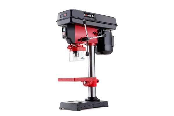 NEW BAUMR-AG Bench Drill Press Workshop Mounted 370W 5 Speed RPM 50mm Drilling