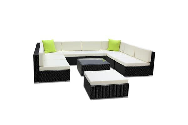 Gardeon 10 Piece Outdoor Furniture Set