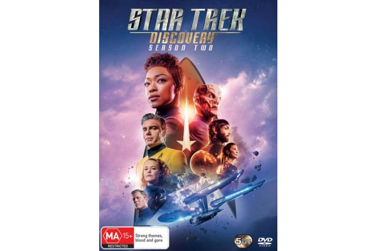 Star Trek Discovery Season 2 Box Set DVD Region 4