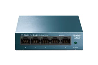 TP-Link 5-Port 10/100/1000Mbps Desktop Switch (LS105G)