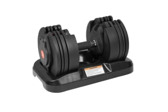 20kg Powertrain Adjustable Home Gym Dumbbell