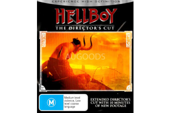 Hellboy  - Rare- Aus Stock Blu-Ray  PREOWNED: DISC LIKE NEW