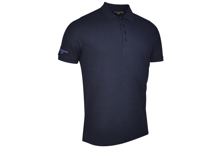 Glenmuir Kinlock - Mens Pique Polo Shirt (Navy) (L)