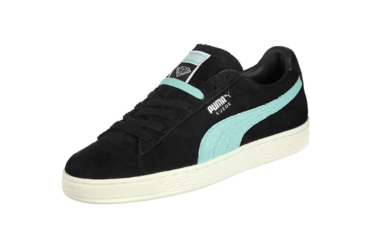 Puma X Diamond Supply Co. Mens Low Cut Lace Up Suede Trainers (BlackDiamond Blue) (5.5 UK)