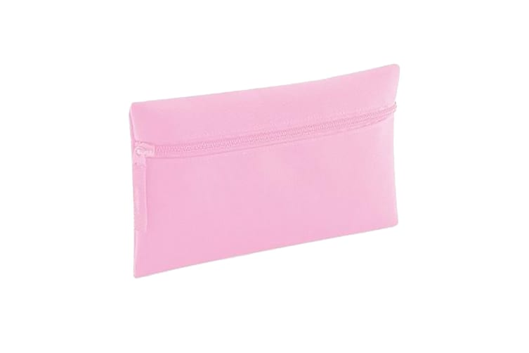 Quadra Classic Zip Up Pencil Case (Classic Pink) (One Size)
