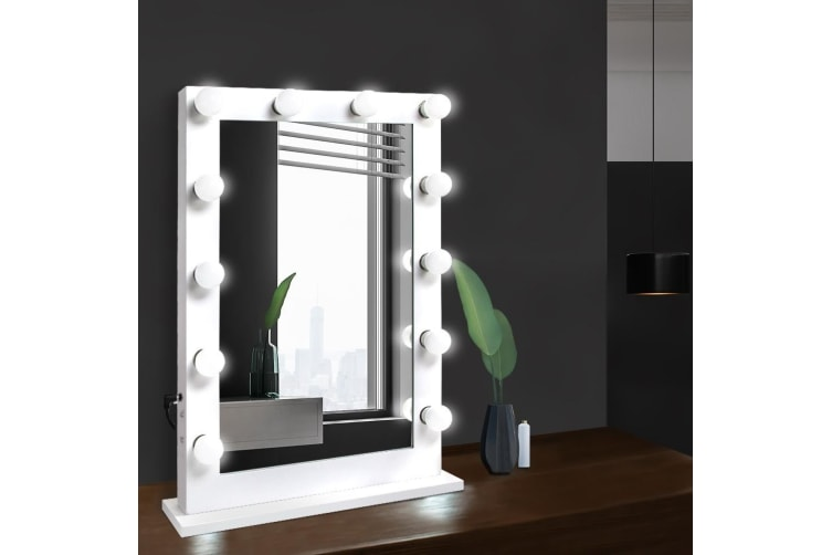 Hollywood Makeup Mirror Led Light Bulbs Lighted Vanity Beauty