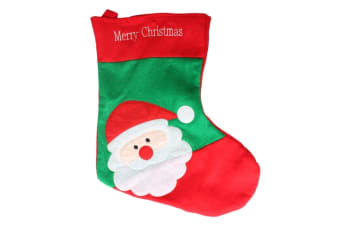 Christmas Xmas Red Stocking Present Gift Bag Santa Claus 42cm
