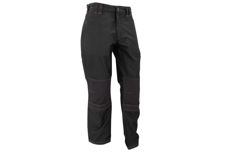 Regatta Mens Holster Workwear Trousers (Short  Regular And Long) (Black) (44L)