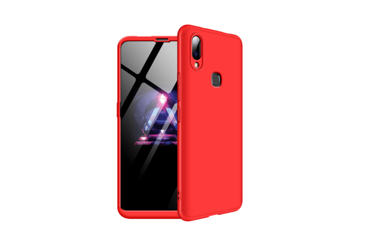 Frosted Shield Matte Ultra Thin Slim Shockproof Shell Cover For Vivo Red V11(India)/V11I