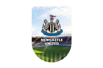 Newcastle United FC Large 3D Sticker (Multicoloured) (One Size)