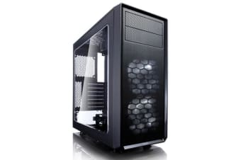 FRACTAL DESIGN Focus G Mid Tower Case black with window