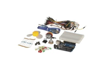 Duinotech Arduino Starter Kit include LED Resistors Switches Potentiometer Buzer