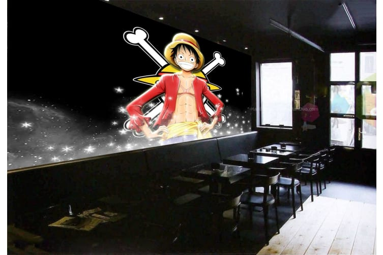3D Proud Luffy 26 Anime Wall Murals Woven paper (need glue), XXL 312cm x 219cm (WxH)(123''x87'')