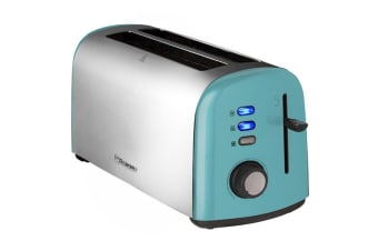 Westinghouse 4 Slice Long Slot Toaster - Pearl Blue