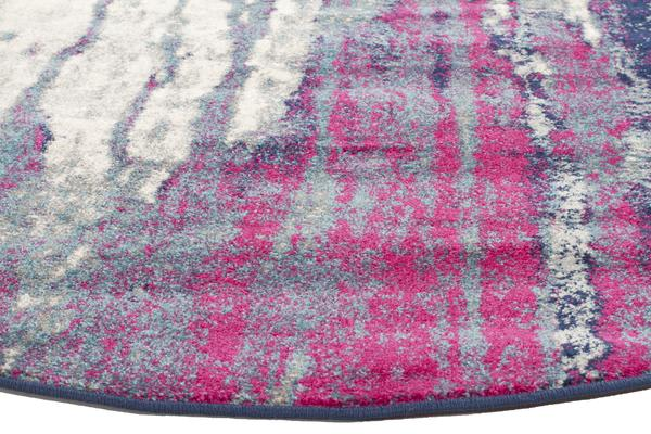 Bedrock Stone Transitional Rug 150x150cm