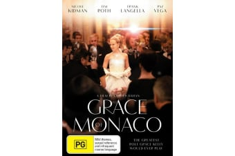 Grace of Monaco DVD Region 4