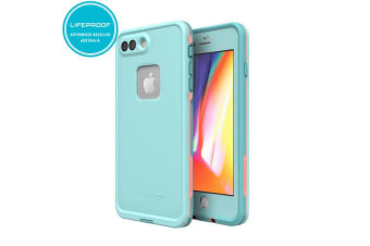 Lifeproof Fre Teal/Pink Case/Cover for iPhone 7+/8 Plus