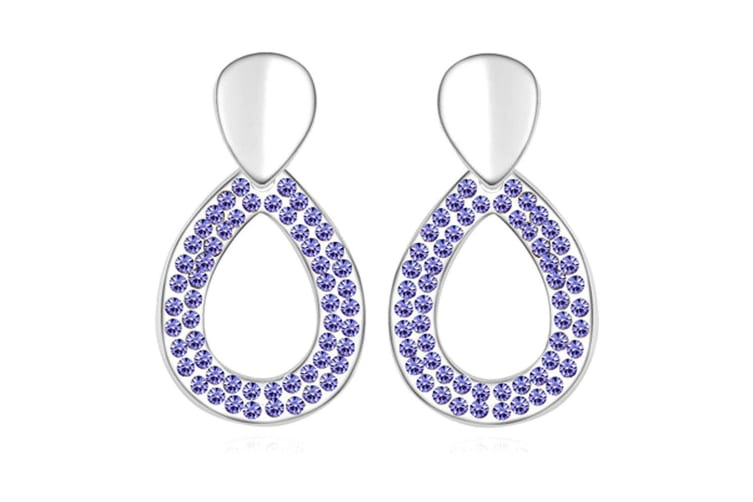 Fabulously You Earrings Embellished with Swarovski crystals