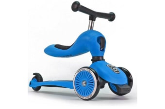 Scoot and Ride Highwaykick 1 Ride On and Scooter Blue