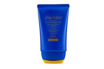 Shiseido Ultimate Sun Protection Cream WetForce For Face SPF 50+ 50ml/1.7oz