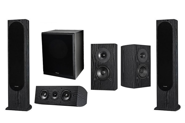 Pioneer 5.1 Home Theatre Speaker System - Designed by Andrew Jones