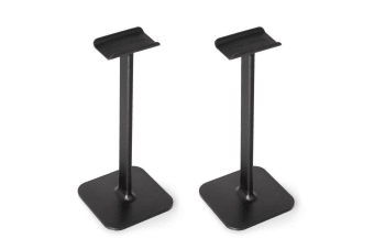 2PK Blue Lounge Posto Universal Headphone Hanger Display Stand/Holder Mount BLK