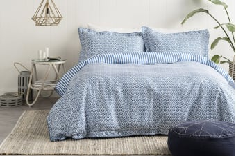 Onkaparinga Florence Quilt Cover Set (Queen)
