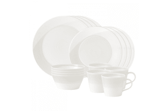 Royal Doulton 1815 Dinner Set 16pc Set White