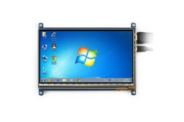 7 inch LCD HDMI Touch Screen Display TFT for Raspberry Pi 3
