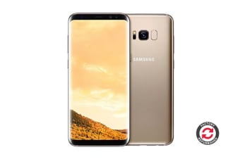 Samsung Galaxy S8+ Refurbished (64GB, Maple Gold) - AB Grade
