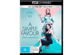 A Simple Favour (4K UHD/Blu-ray)