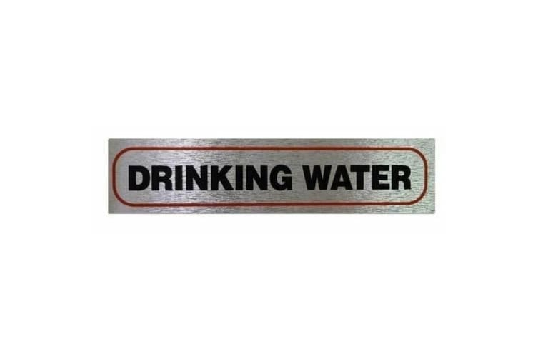 Classic Designs Information Sign (Drinking Water) (One Size)