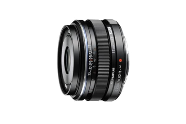 Olympus M.Zuiko Digital ED 17mm f/1.8 Lens (Black)